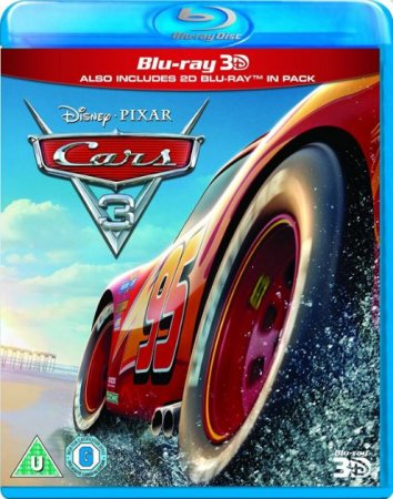 Cars 3 3D Full HD 2017 1080p
