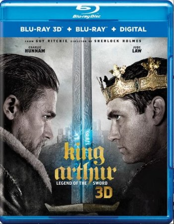 King Arthur: Legend of the Sword 3D Full HD 2017 1080p