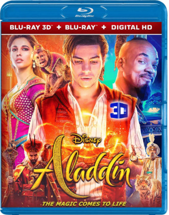 Aladdin 3D Full HD 2019 1080p