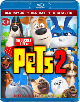 The Secret Life of Pets 2 3D Full HD 2019 1080p