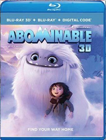 Abominable 3D Blu Ray 2019