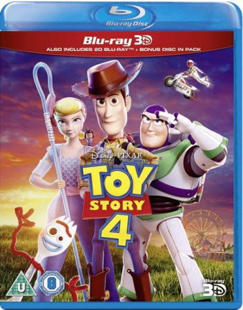 Toy Story 4 3D Full HD 2019 1080p