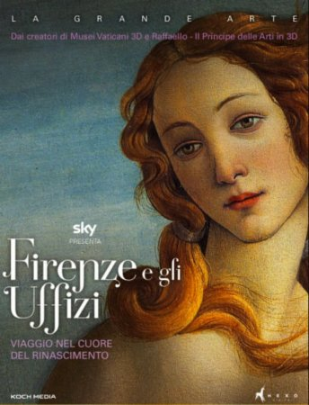 Florence and the Uffizi Gallery 3D Full HD 2015 1080p