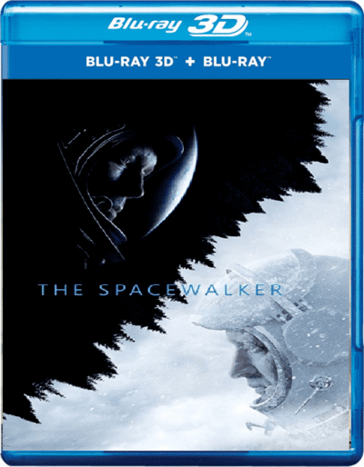 The Spacewalker 3D Blu Ray 2017